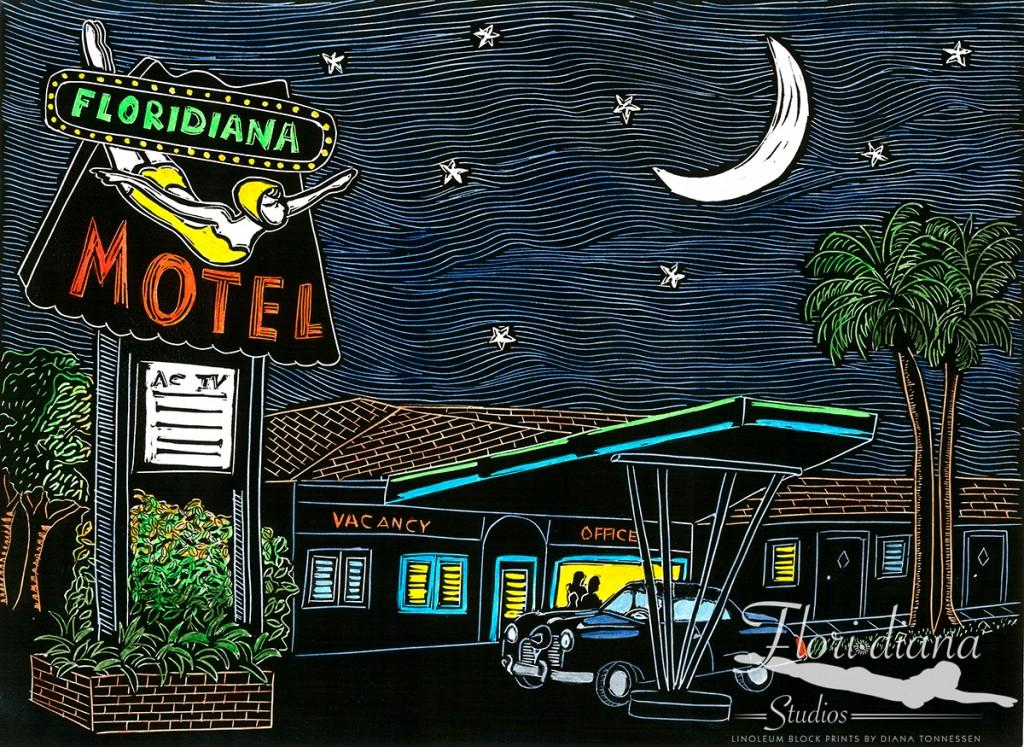 Floridiana Motel Original WM
