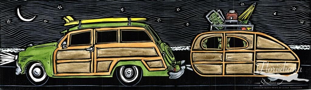 Midnight Surf Riders Original WM